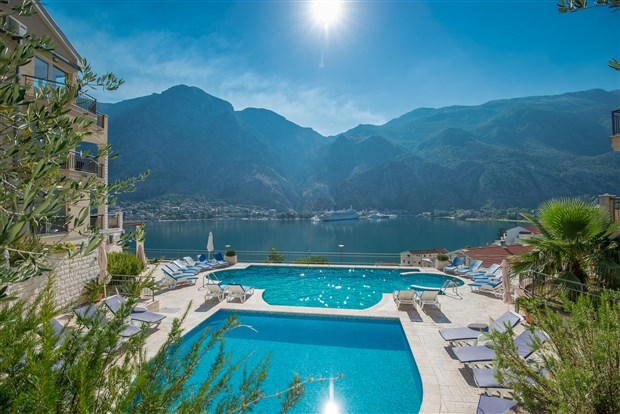 The relaxing Kotor Vista Apartments, Kotor Bay